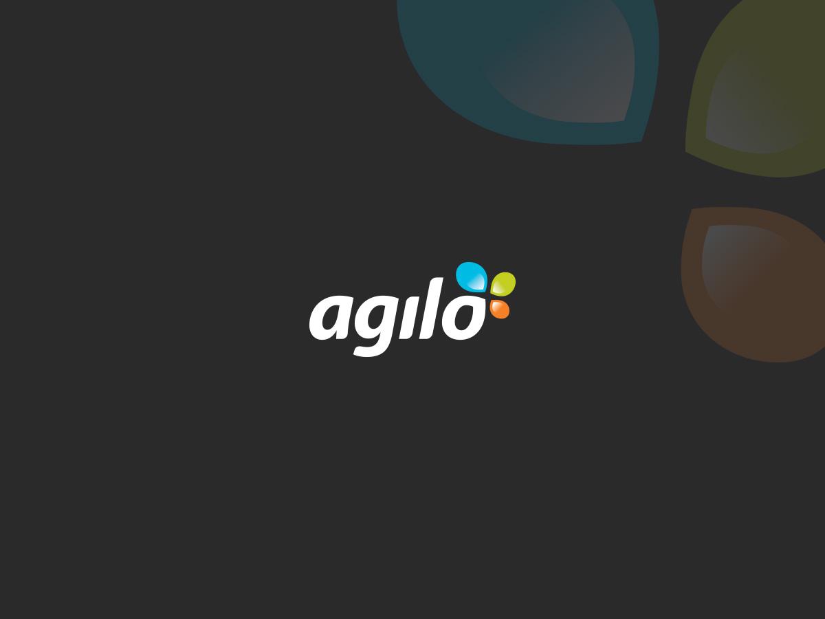 agilo logo design