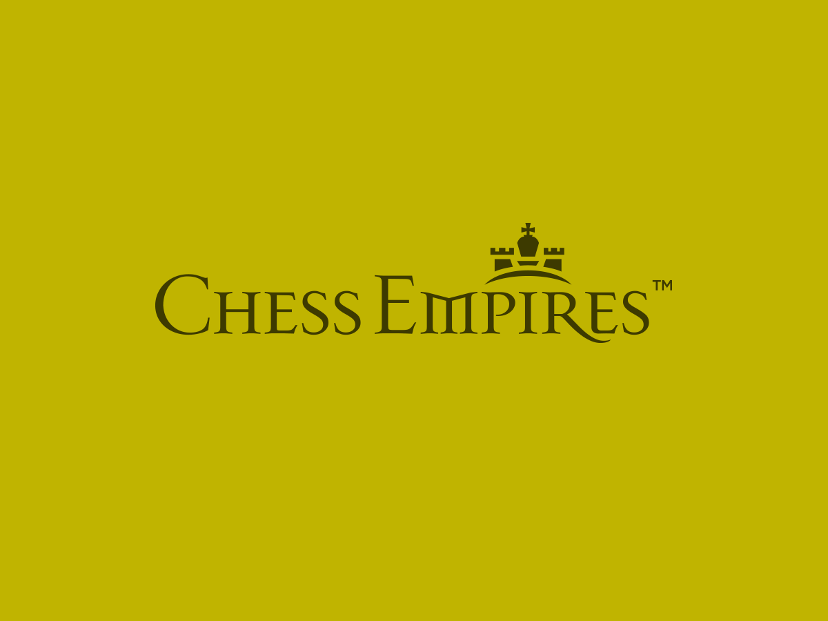 Chess Empires logo design