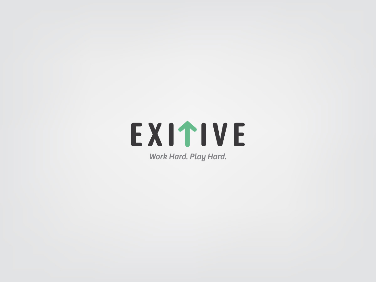 exitive logo and tagline