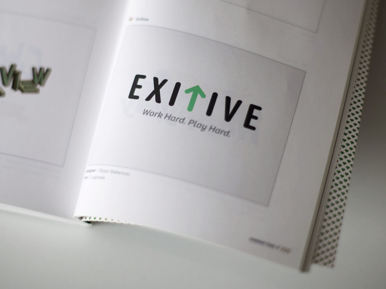 Exitive - published logo design