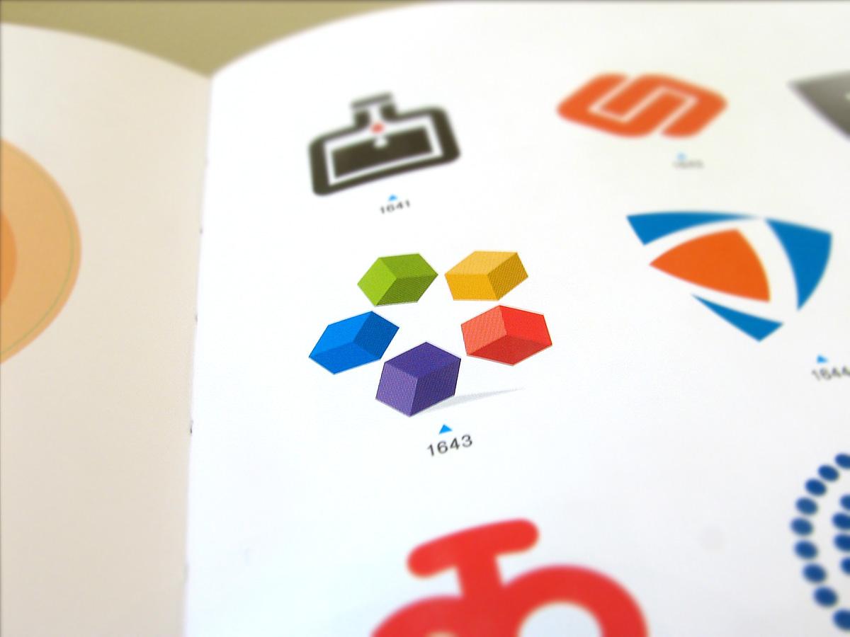Five Blocks published logo design