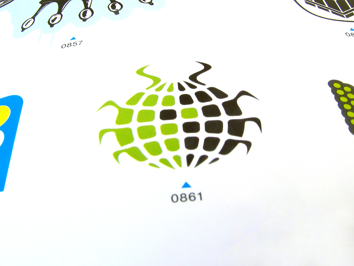 Global Roach published Taschen Logo Design Vol.2