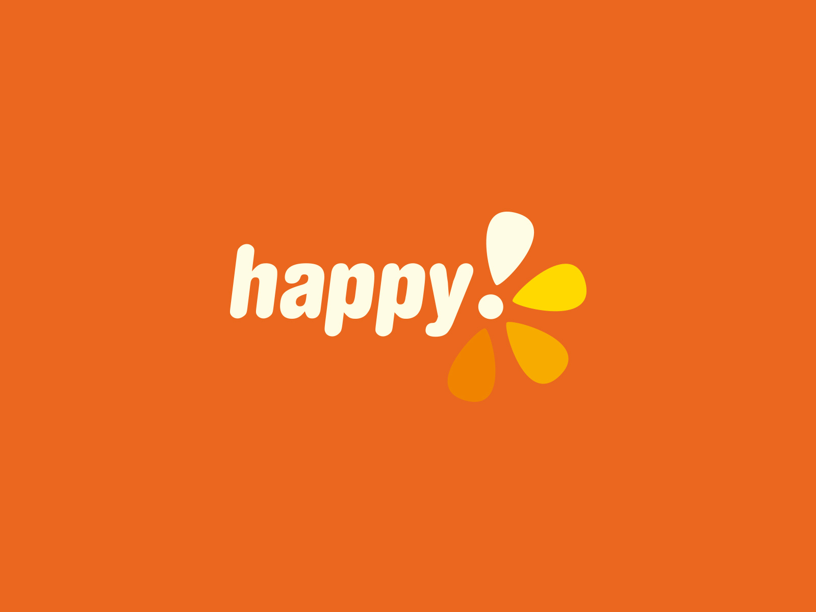 Happy TV visual identity