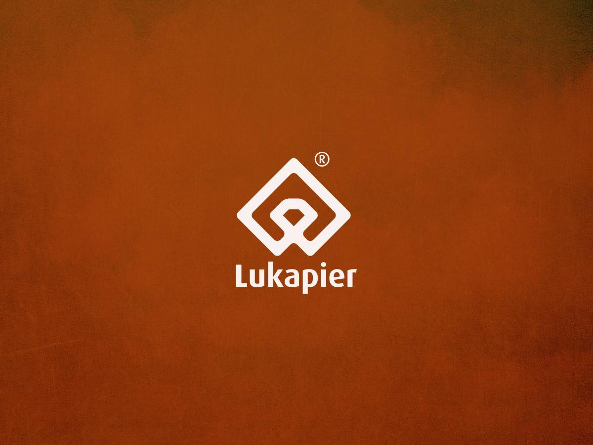 Lukapier logo design