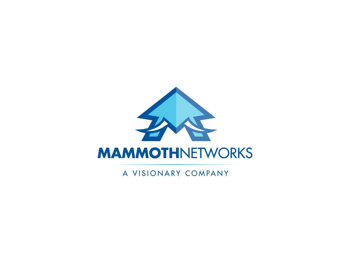 Mammoth Networks logo design