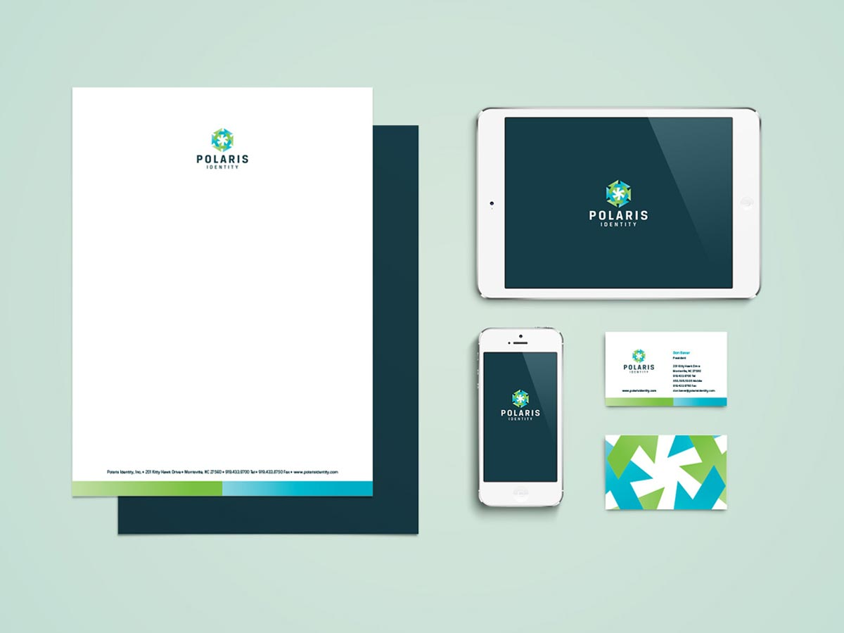 Polaris Identity branding