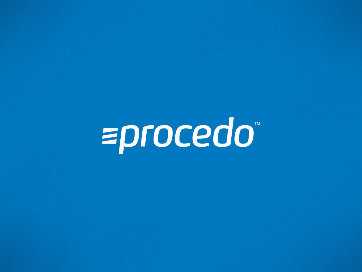Procedo logo design