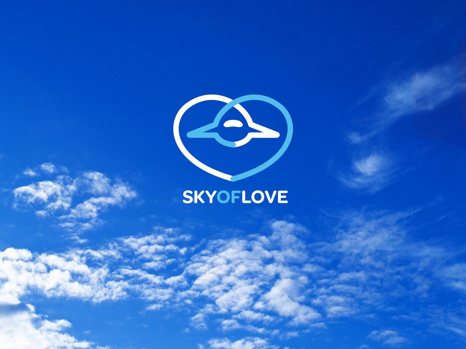 Sky Of Love pro bono logo design
