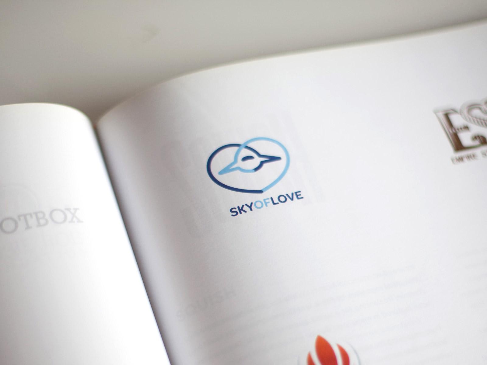 Sky Of Love logo design published in Logonest 01