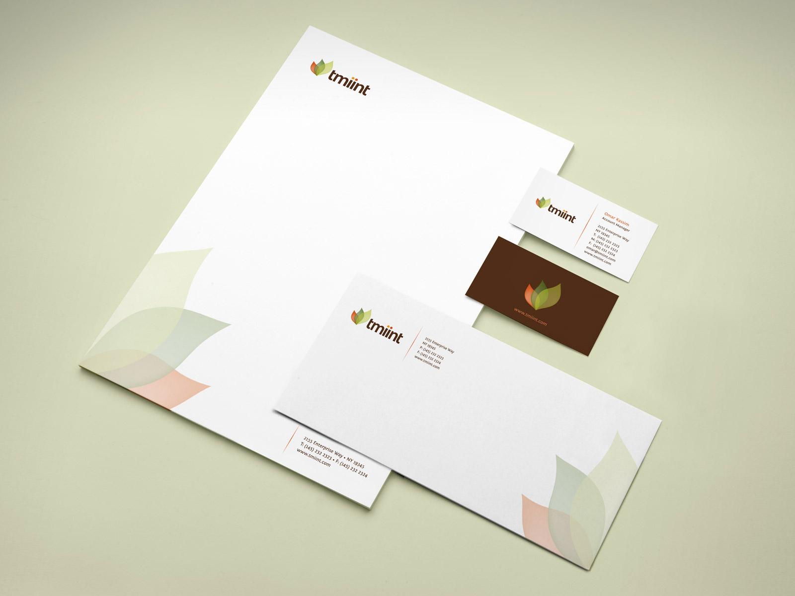 tmiint corporate visual identity