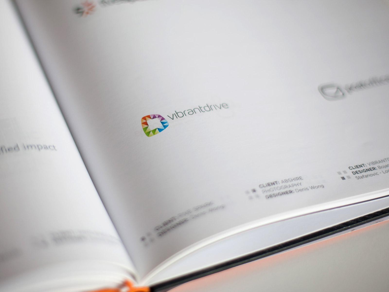 Vibrant Drive published logo design