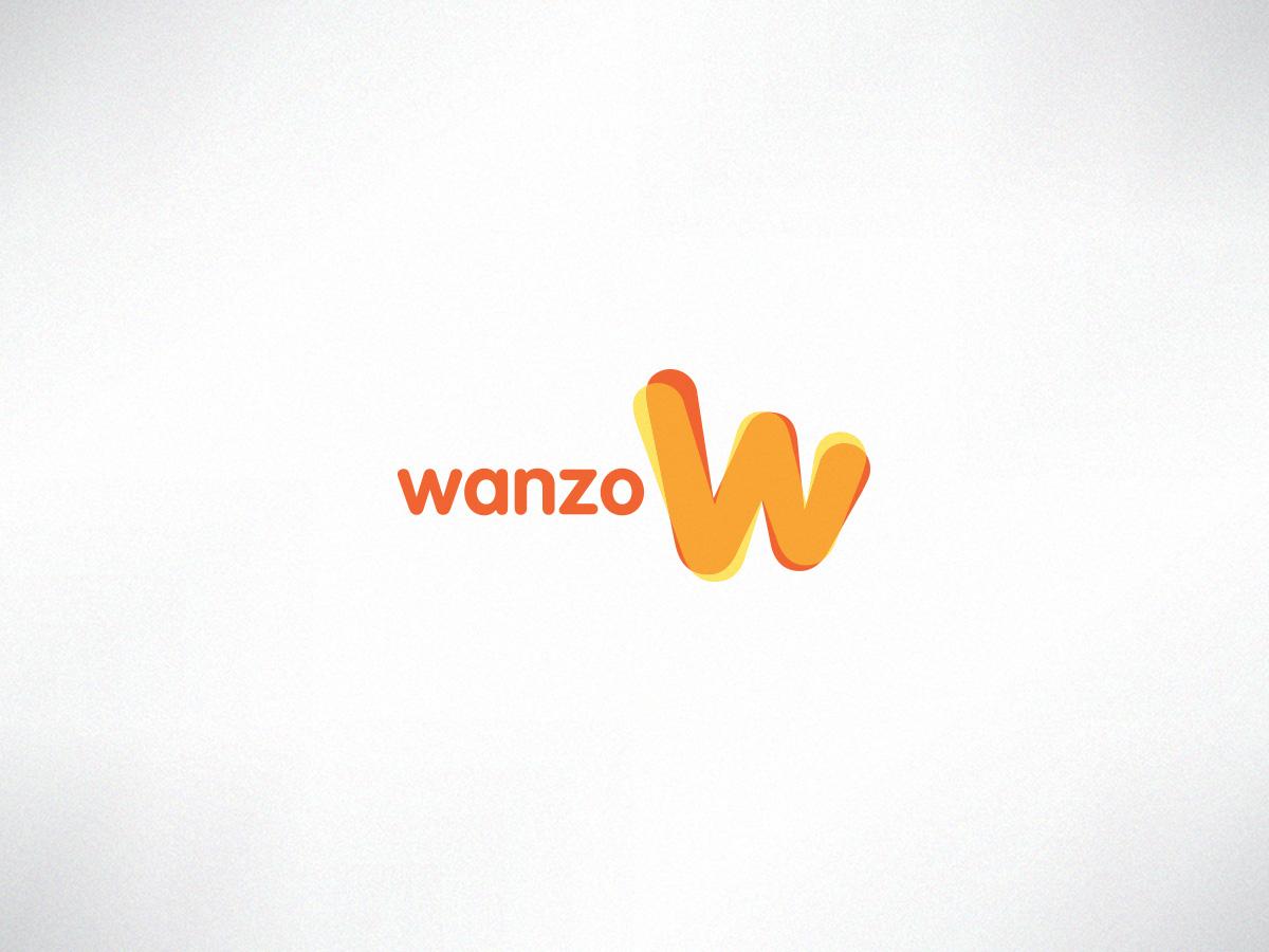 Wanzo logo design