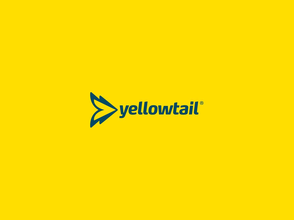 Yellow Tail Fishing logo design