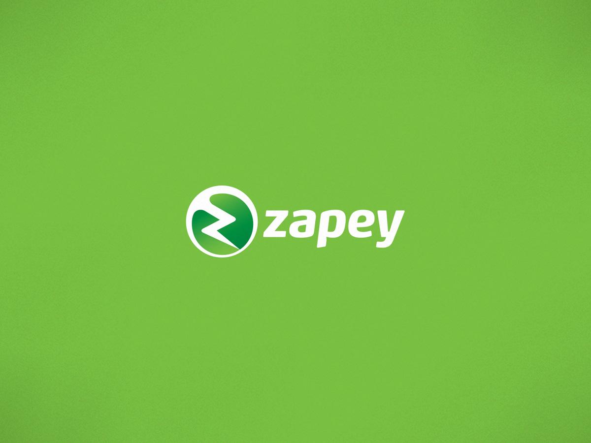 zapey logo design